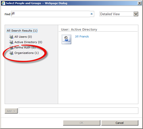 """How to disable the """"Organizations"""" selector in the"""