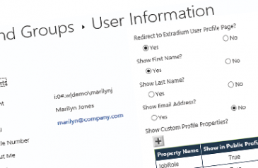 Beware of user information being shared with all SharePoint users in extranet scenarios